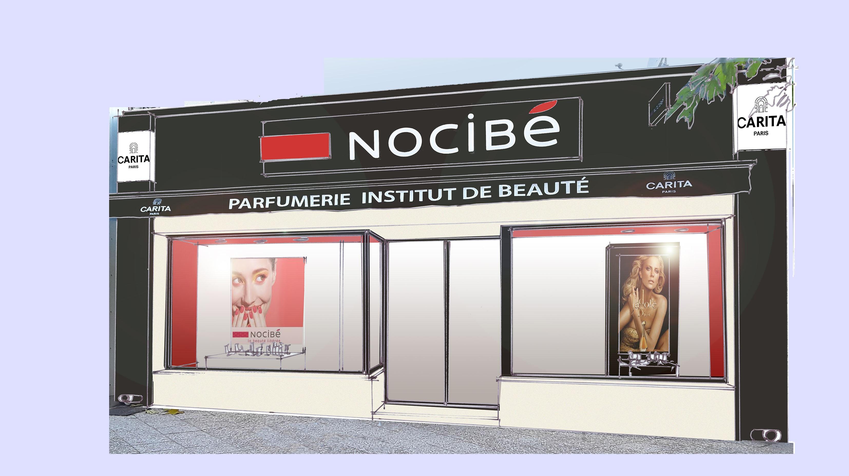 PARFUMERIE NOCIBE CABINE DE SOINS CARITA